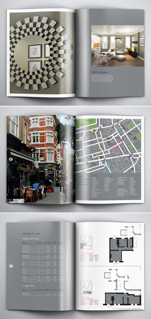 A Collection of Effective Real Estate Brochure Designs and Layouts - sample real estate brochure