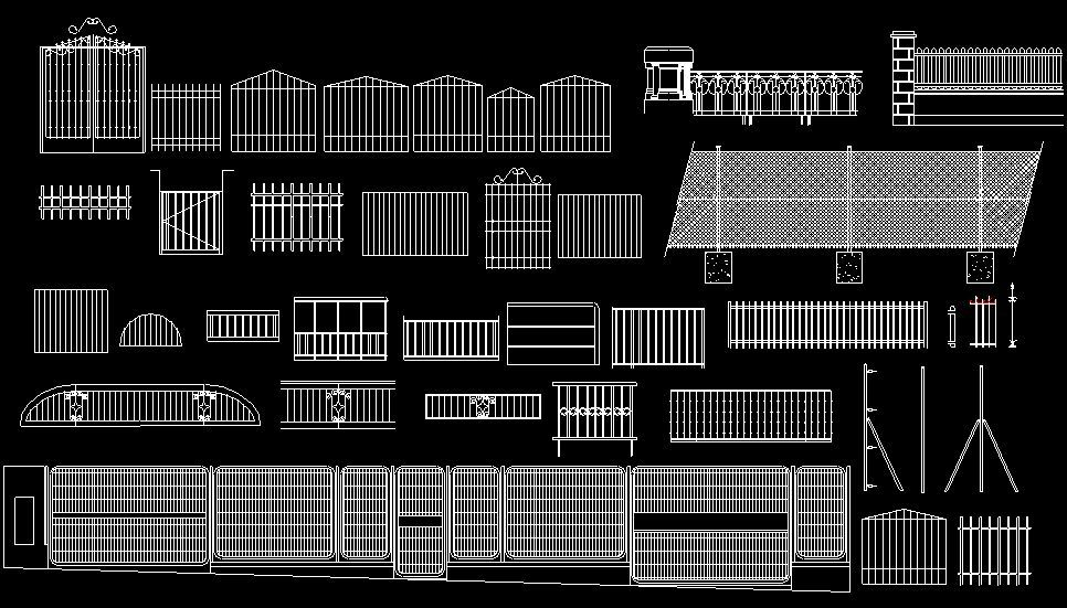 Cierres 112 Fachadas De Casas Modernas Fachada De Casa Verjas