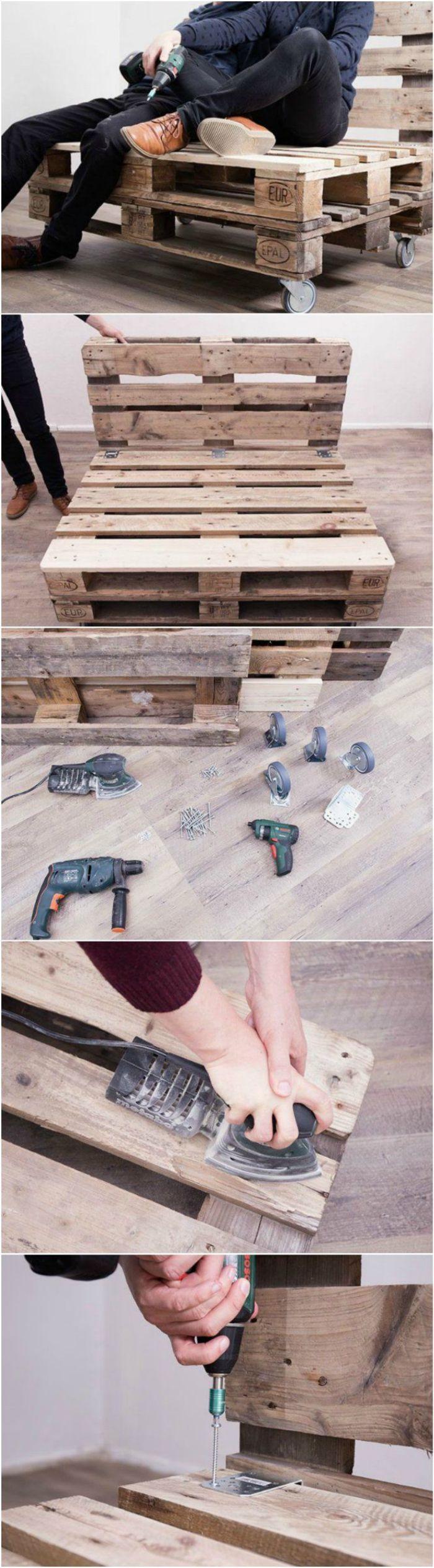 ▷ 1001+ idées créatives pour fabriquer des meubles en palette