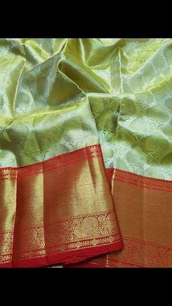 Photo of Kanchipuram Pure Pattu Silk Sarees