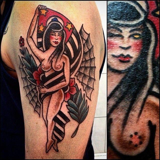 #tattoo #pinuptattoo #sptattoo #sp #saopaulo