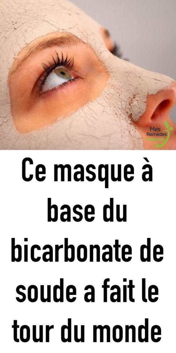 Ce masque à base du bicarbonate de soude a fait le tour du monde