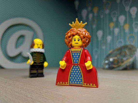 Queen Elizabeth I Lego Figure Elizabethan British History