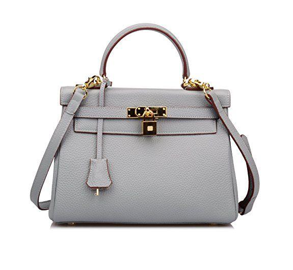 105 Light Gray Hermes Kelly Bag Dupe Deisgner Dupes Designer Handbag