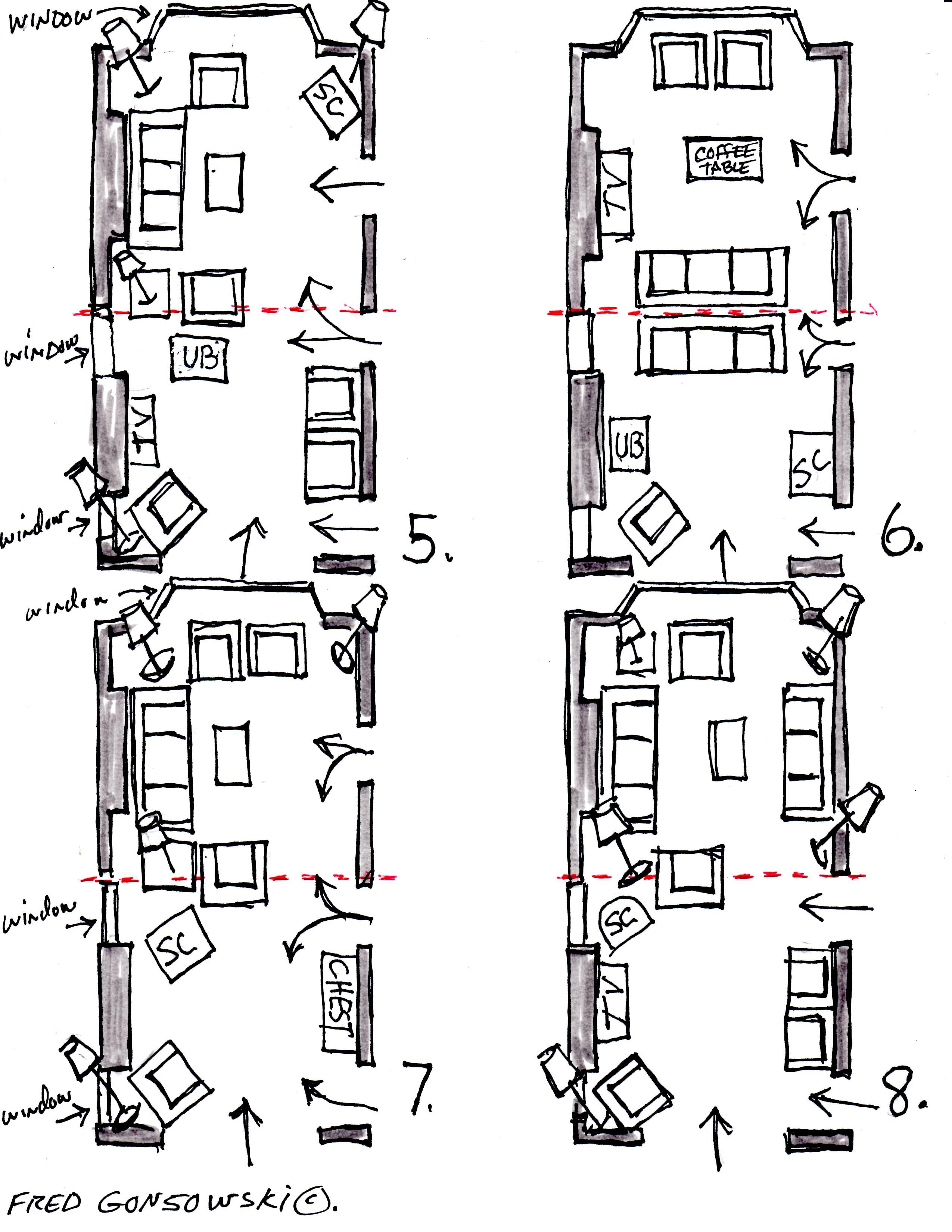 Arranging Furniture In A 12 Foot Wide By 24 Foot Long Living Room Narrow Living Room Long Narrow Living Room Livingroom Layout