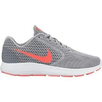 Nike Revolution 3 (Wide Width) Womens Running Shoe grey