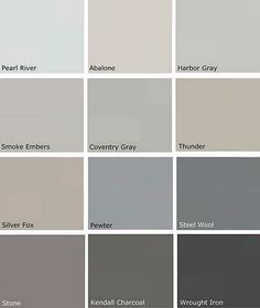 What Colour Goes With Silver Fox Benjamin Moore Google Search