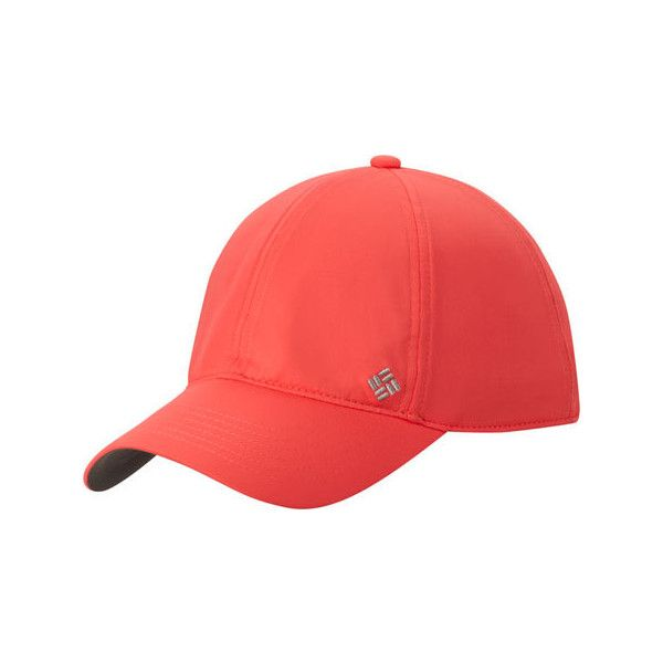 2034458660cbf Women s Columbia Coolhead™ Ballcap III - Red Hibiscus Baseball Caps ( 32) ❤  liked on Polyvore