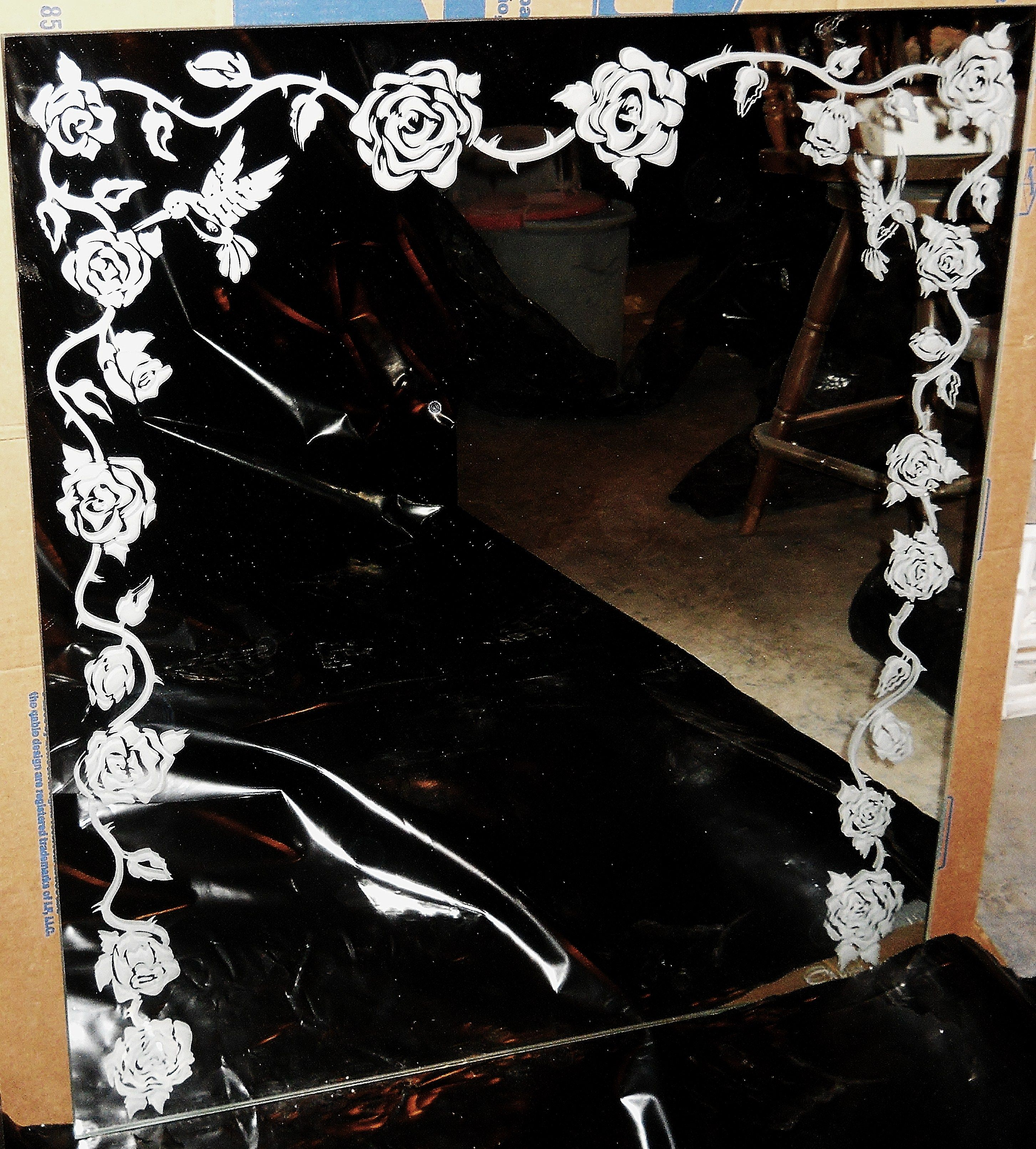 Etched Mirror Etched Mirror Mirror Designs Mirror Decor