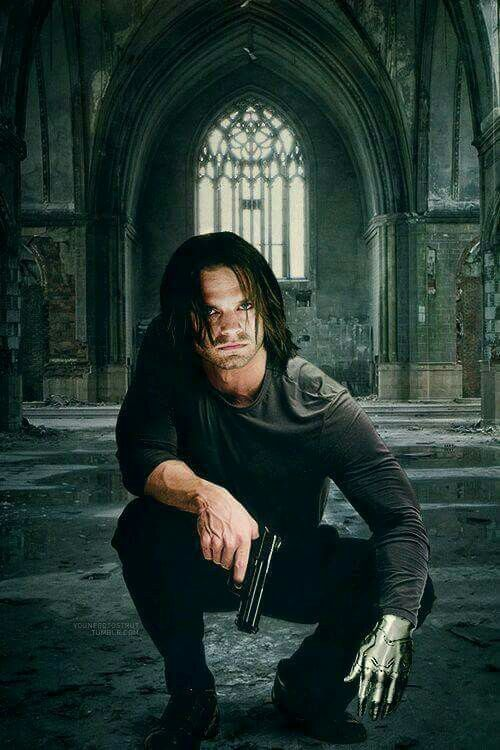 Why does he look like he joined the Winchesters?   Marvel   Bucky