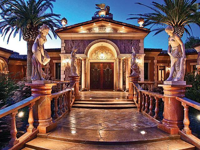 Venetian Style Homes venetian style villa, cambria, california | homes: mediterranean