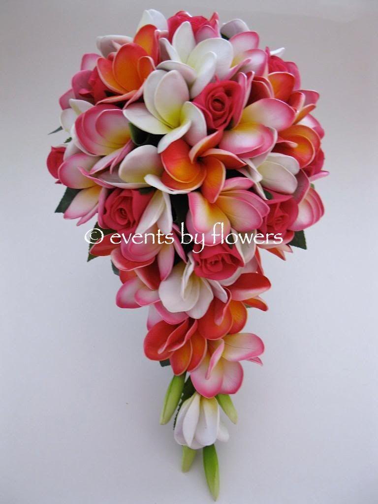 Real Touch Plumeria Frangipani Rose Wedding Bouquet Button Hole Rose Wedding Bouquet Wedding Bouquets Plumeria Flowers