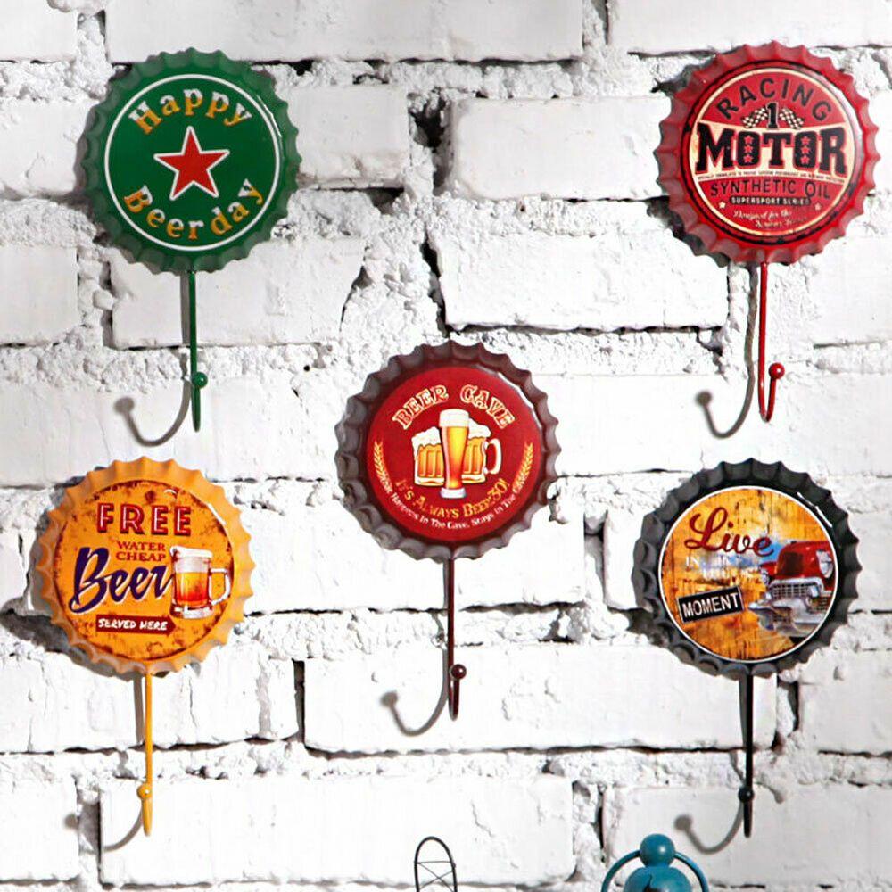 Retro Tin Metal Beer Bottle Caps Sign Poster Plaque Bar Pub Club Wall Home Decor