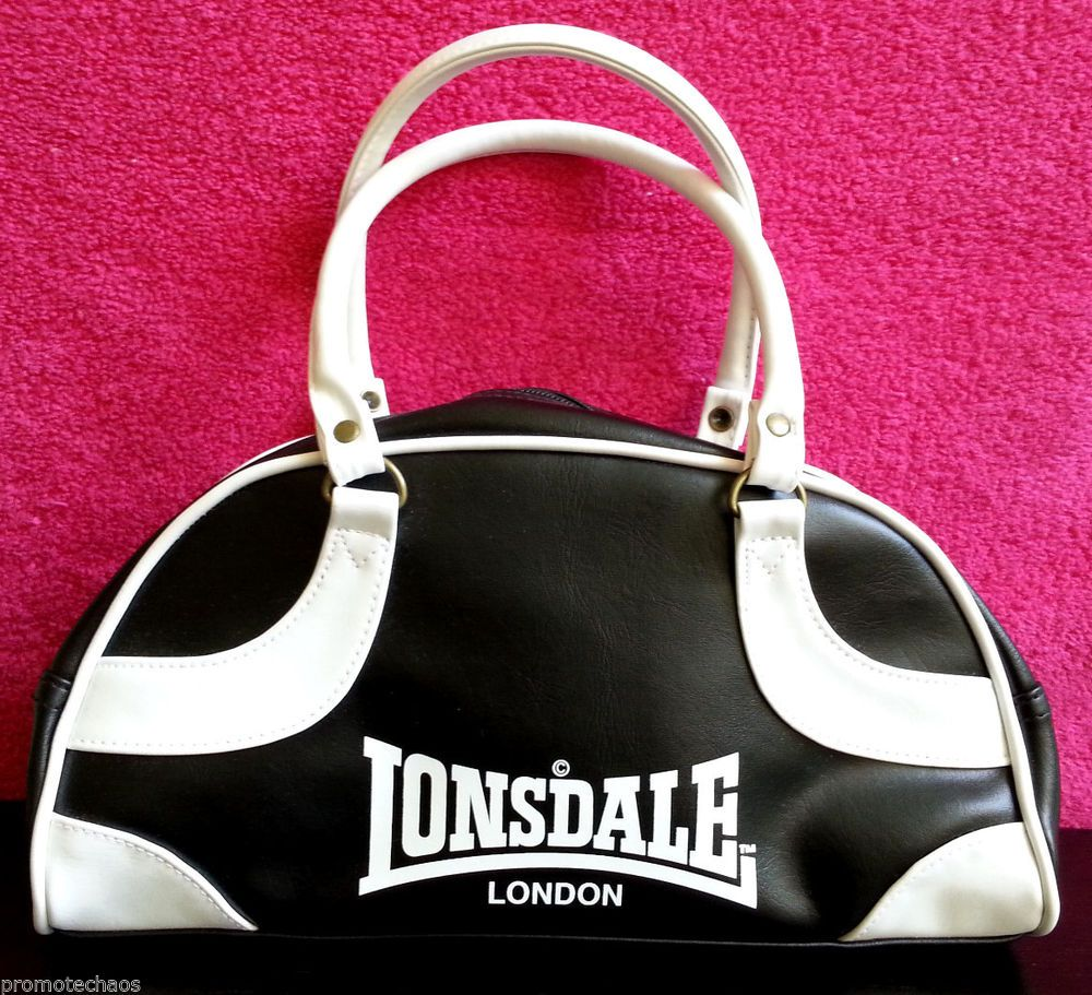 095fa9d2fb7 LONSDALE MINI BOWLING BAG Handbag Purse Rude Girl Skinhead Mods Retro NWT  boxing    FREE U.S SHIPPING