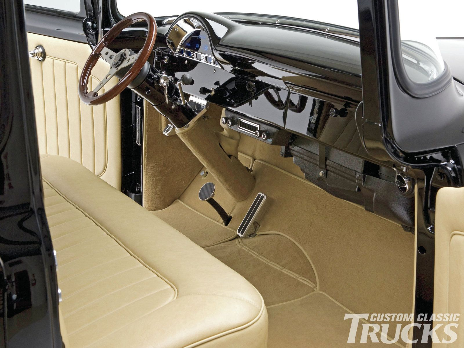 1956 Ford F 100 Truck Hot Rod Network Classic Trucks Magazine Truck Interior Classic Trucks