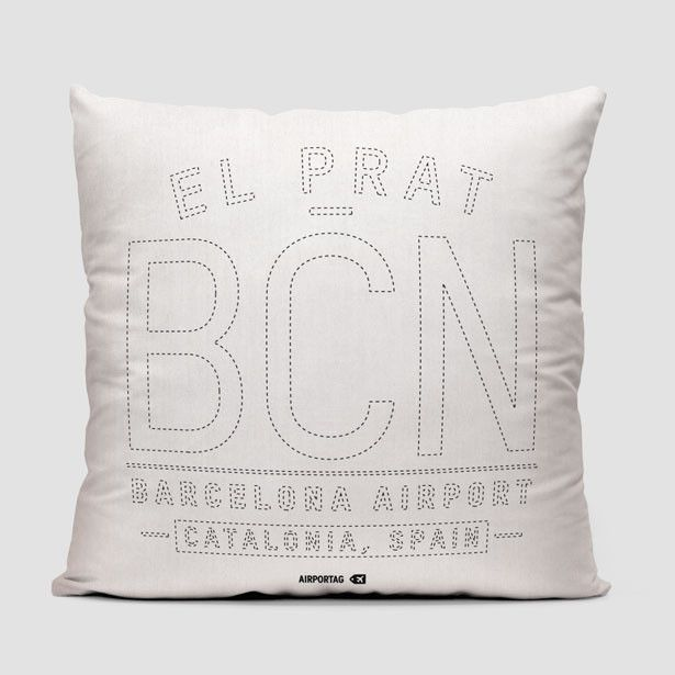 BCN Letters - Throw Pillow