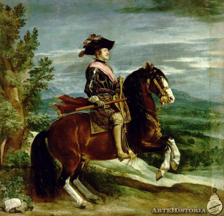 Felipe IV, a caballo - Obra - ARTEHISTORIA V2