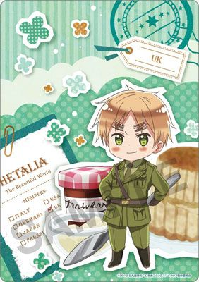 Hetalia ~~ Treats Series :: England