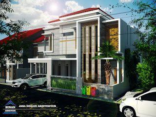 Jasa Desain Rumah Minimalis Modern 2 Lantai 082335327089 Mewah Idaman Denah