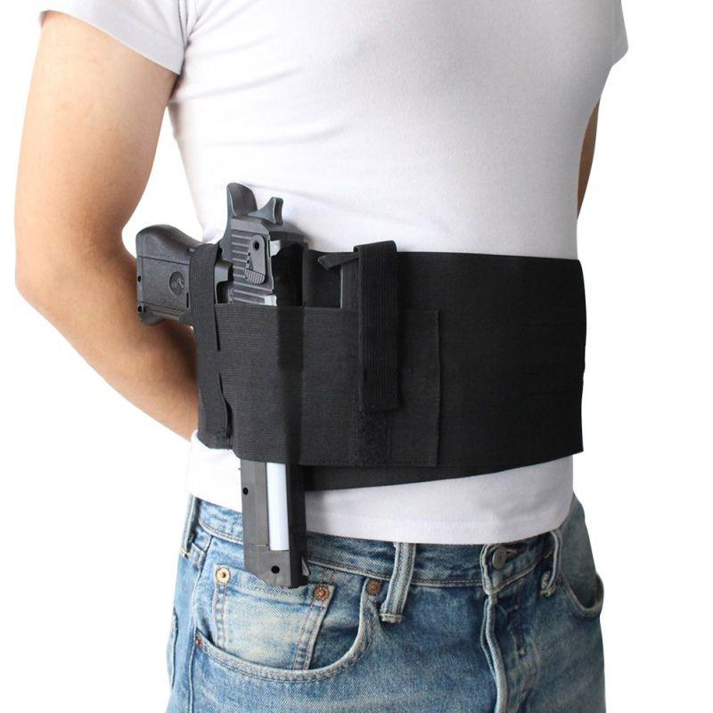 Conceal Carry Hand Gun Holster Multifunctional Tactical Belt Pistol Ammo Carrier