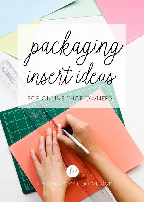 Packaging Insert Ideas For Online Shop Owners Business