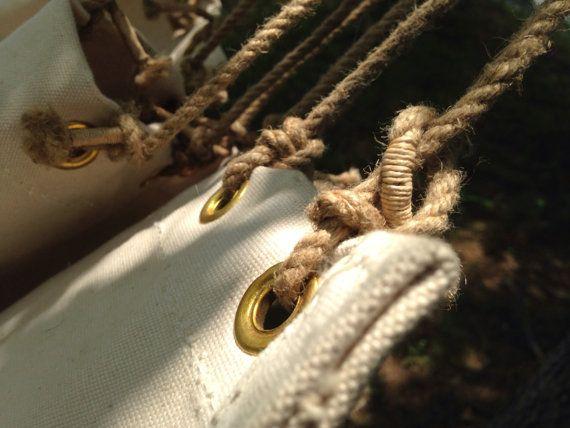 vintage canvas sailor u0027s hammock   handmade wwii naval reproduction hammock vintage canvas sailor u0027s hammock   handmade wwii naval reproduction      rh   pinterest