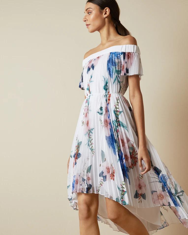 Luner In 2020 Dresses Shoulder Dress Ted Baker Dress