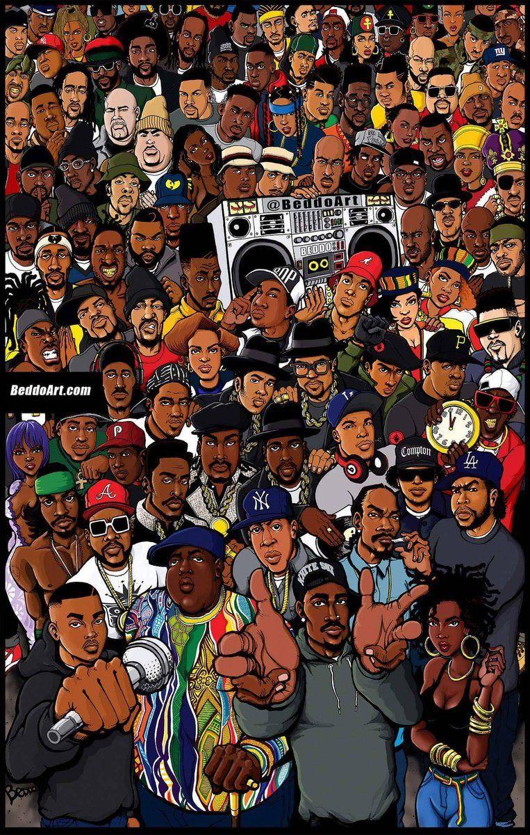 BlackHistoryStudies on in 2020 Rap wallpaper, Rapper art
