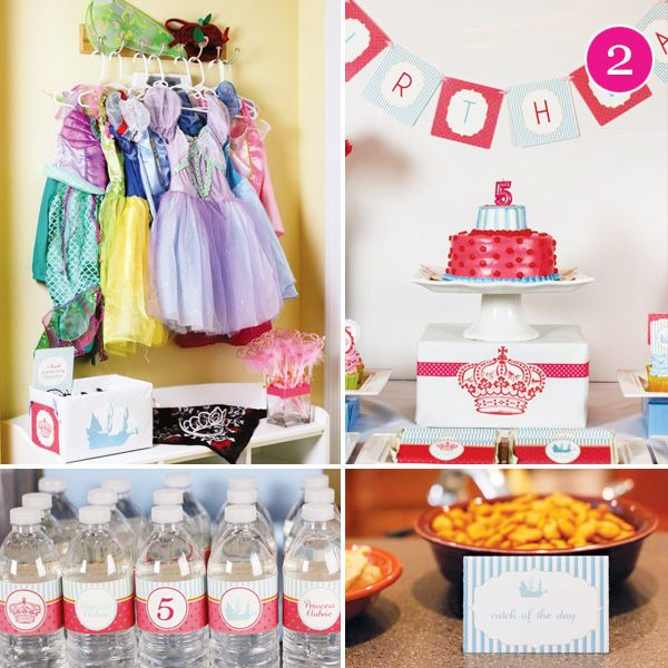 {Party of 5} Pink Owl First Birthday, Princess and Pirate, Sherlock Holmes, Circus & Vintage Paris Bridal Shower