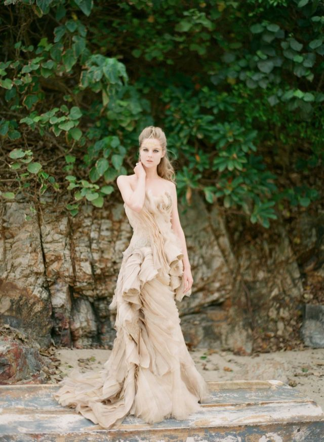 Vivian Luk Atelier Sea Life Inspired Bespoke Wedding Dresses Photographed By Alea Lovely