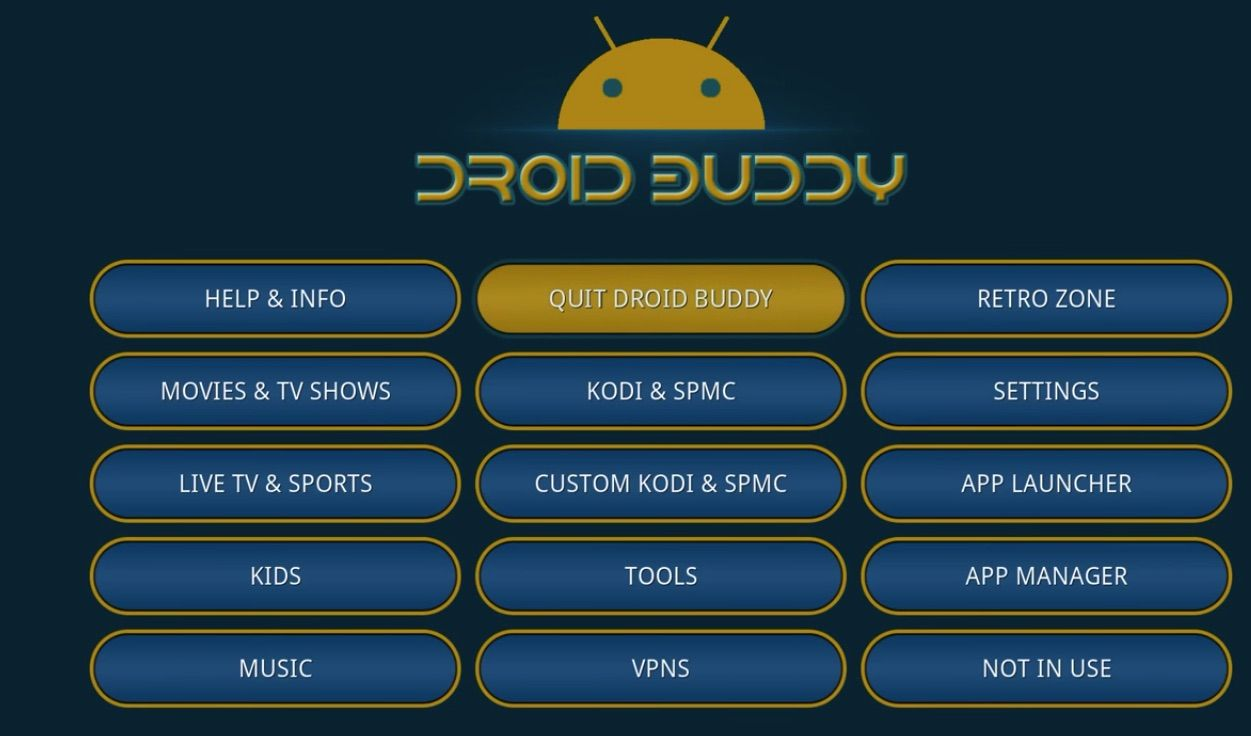 Download & Install Droid Buddy 2 on Amazon Fire TV Stick
