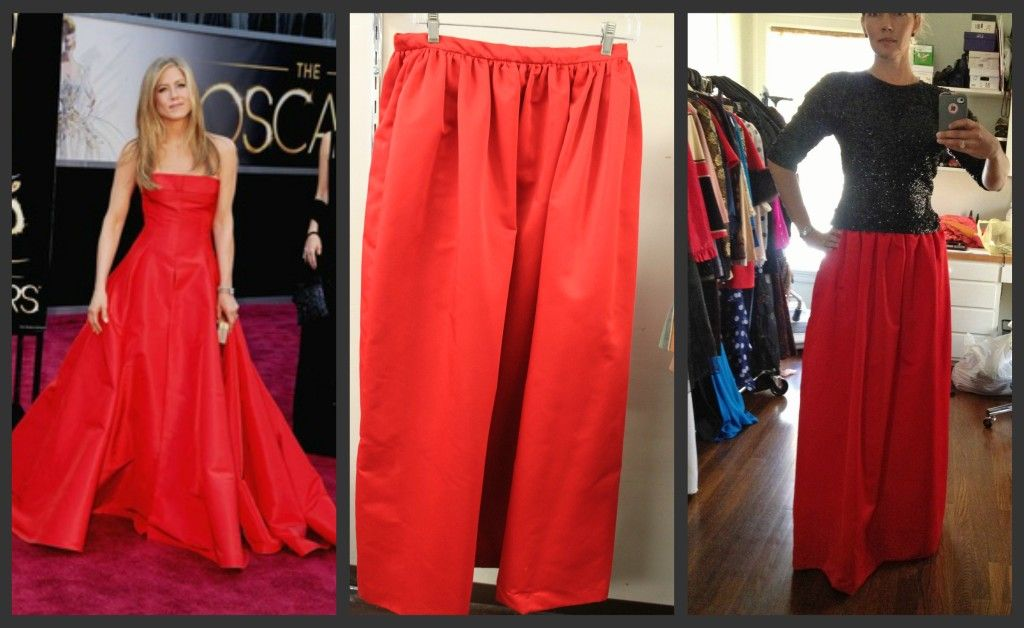 Gala Ball Gown Skirt ... thrift store style for only $6.99 ...