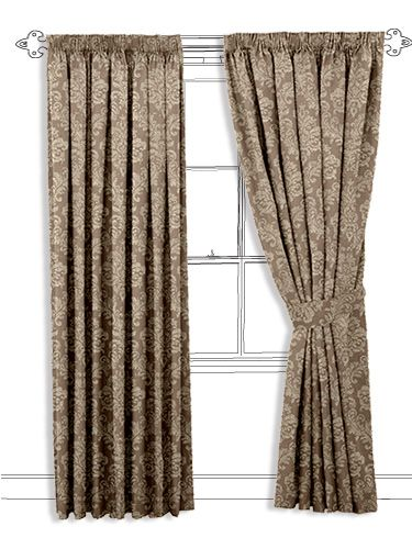 Venise Stucco Curtains This Light Brown Coloured Curtain Not