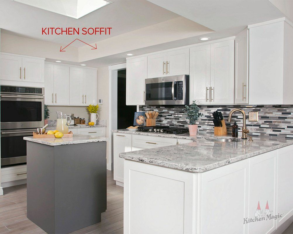 Design Alternatives To Kitchen Cabinet Soffits In 2020 Kitchen Soffit Above Kitchen Cabinets Kitchen Remodel