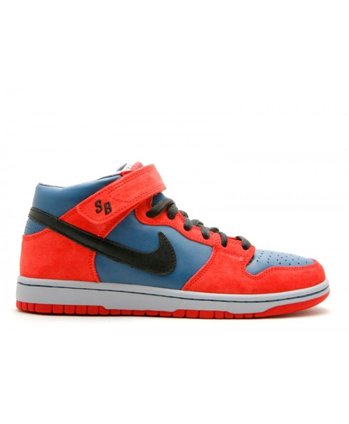 Discount Authentic Mens Nike Dunk Low Shoes Black/White/Red/Blue/Wheat Spiderman