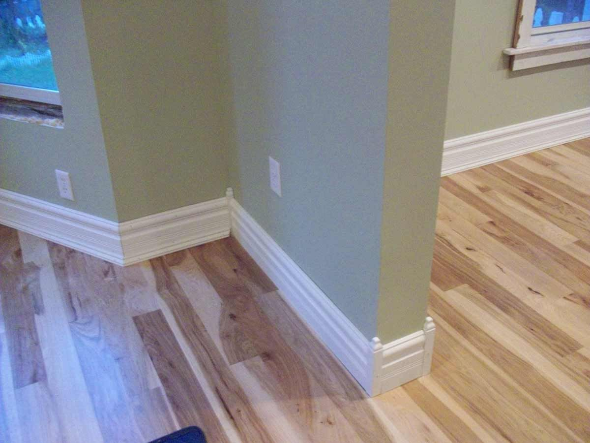 How to cut base molding in place - Corner Baseboard Molding Styles And Floor