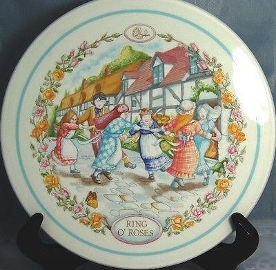 7 Inch Children S Plate Nursery Rhymes Ring O Roses Wedgwood England 4 Ebay Nursery Rhymes Nursery Wedgwood