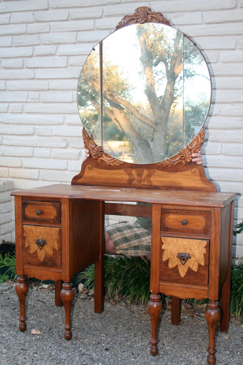 Antique Dressing Table Vanity - Luxury Home Office Furniture Check more at  http:// - Antique Dressing Table Vanity - Luxury Home Office Furniture Check