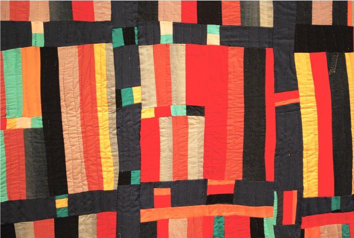 Gee s bend quilts hable construction textiles textures pinterest - Quilts gele ...