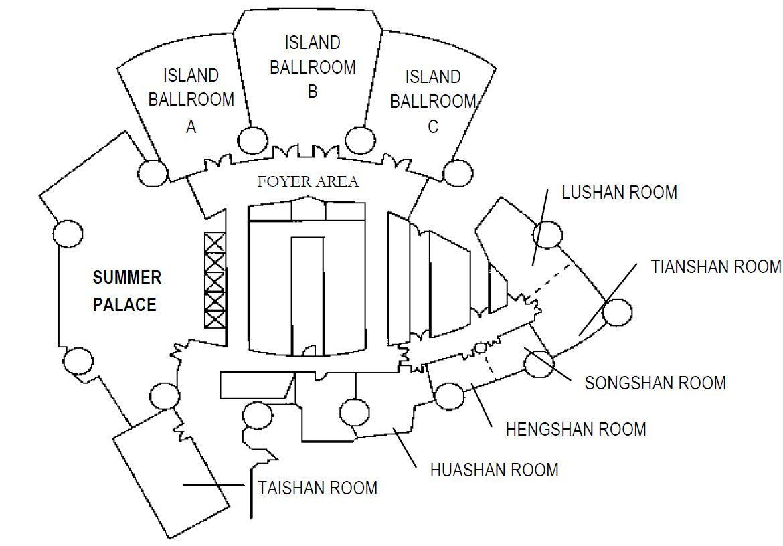 Island Shangri La Hong Kong Ballroom B Floorplan