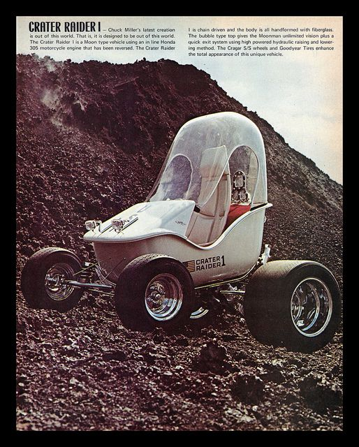 """Crater Raider"" Show Car, 1971 by Cosmo Lutz, via Flickr"
