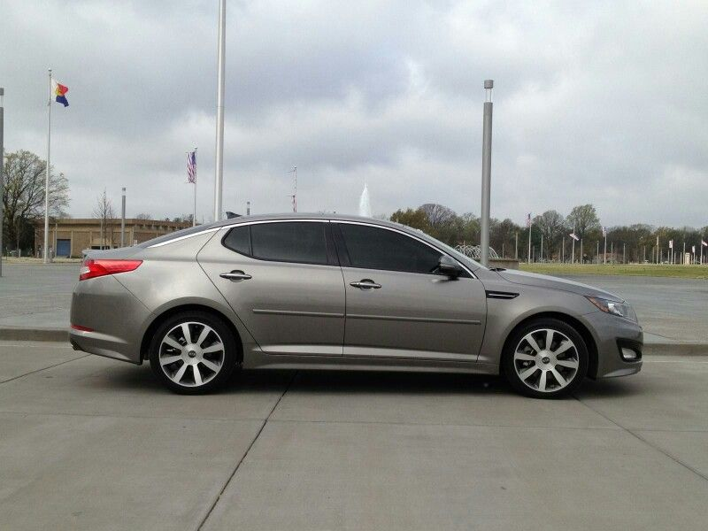 2012 Kia Optima Titanium With Tinted Windows Kia Optima Kia