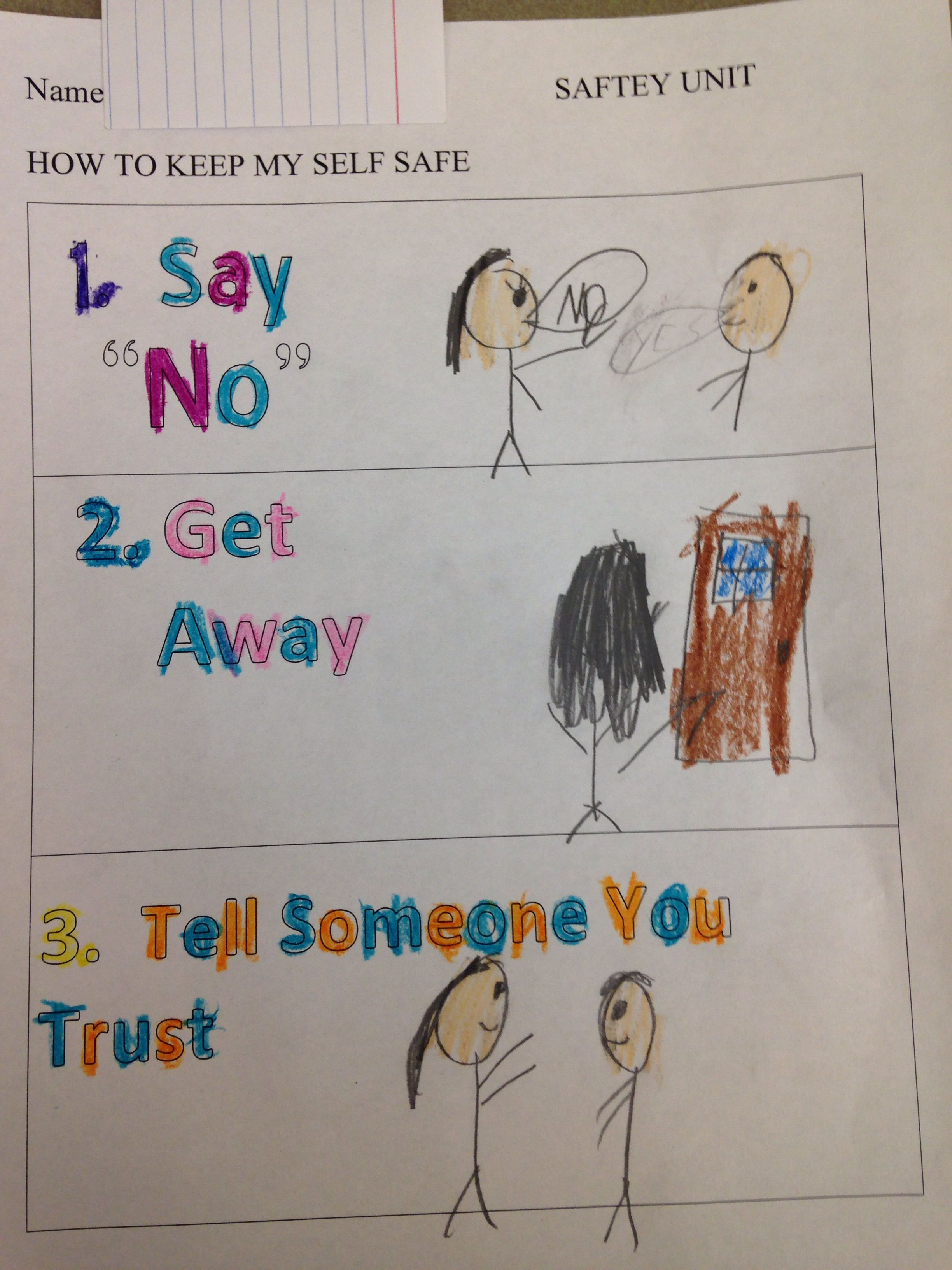 Worksheets From The First Lesson In My Safety Unit We Talked About What To Do If You Are Personal Safety Lessons School Counseling Lessons Safety Lesson Plans [ 3264 x 2448 Pixel ]