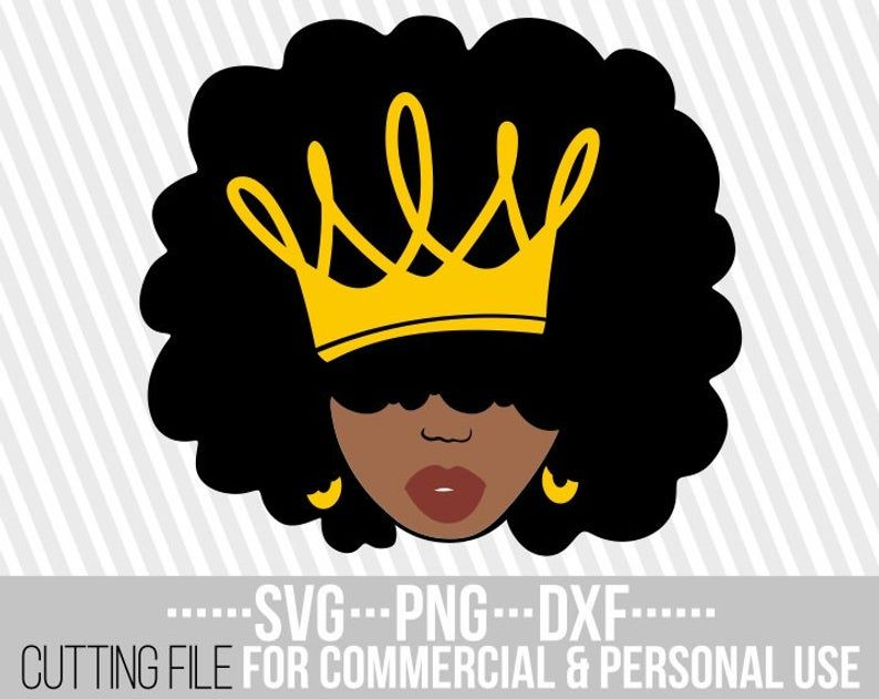 Download Black queen svg, Melanin, Red lips, Natural hair dxf, Afro ...
