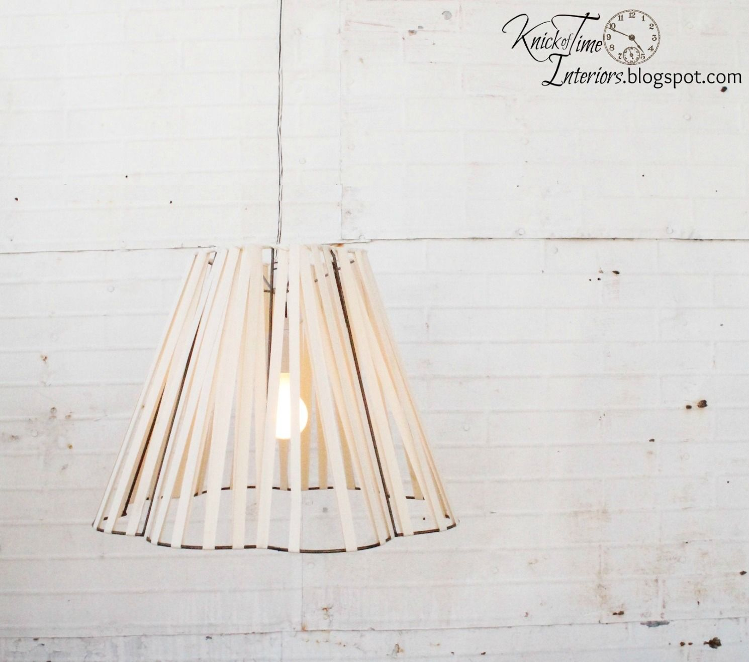 Knick of Time: Deconstructed and Reconstructed Lamp Shade | LIGHTING ...