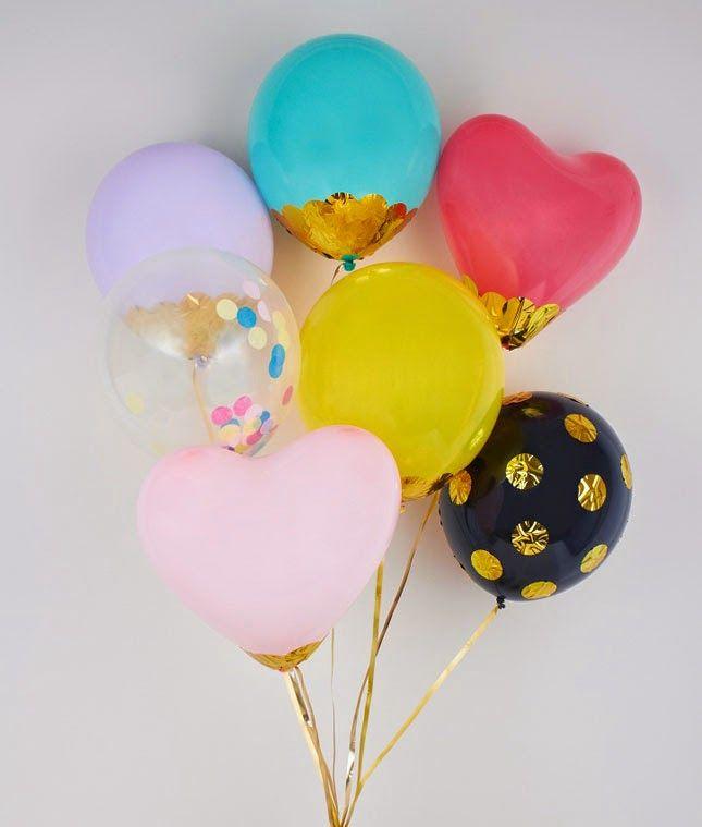 De 30 ideas de decoraci n con globos para cumplea os - Decoracion de globos ...