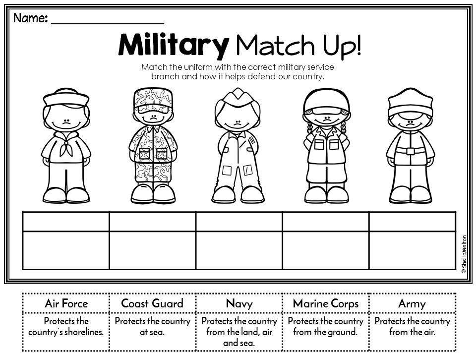 Printable Military Short Timers Calendar Image Veterans day math worksheets