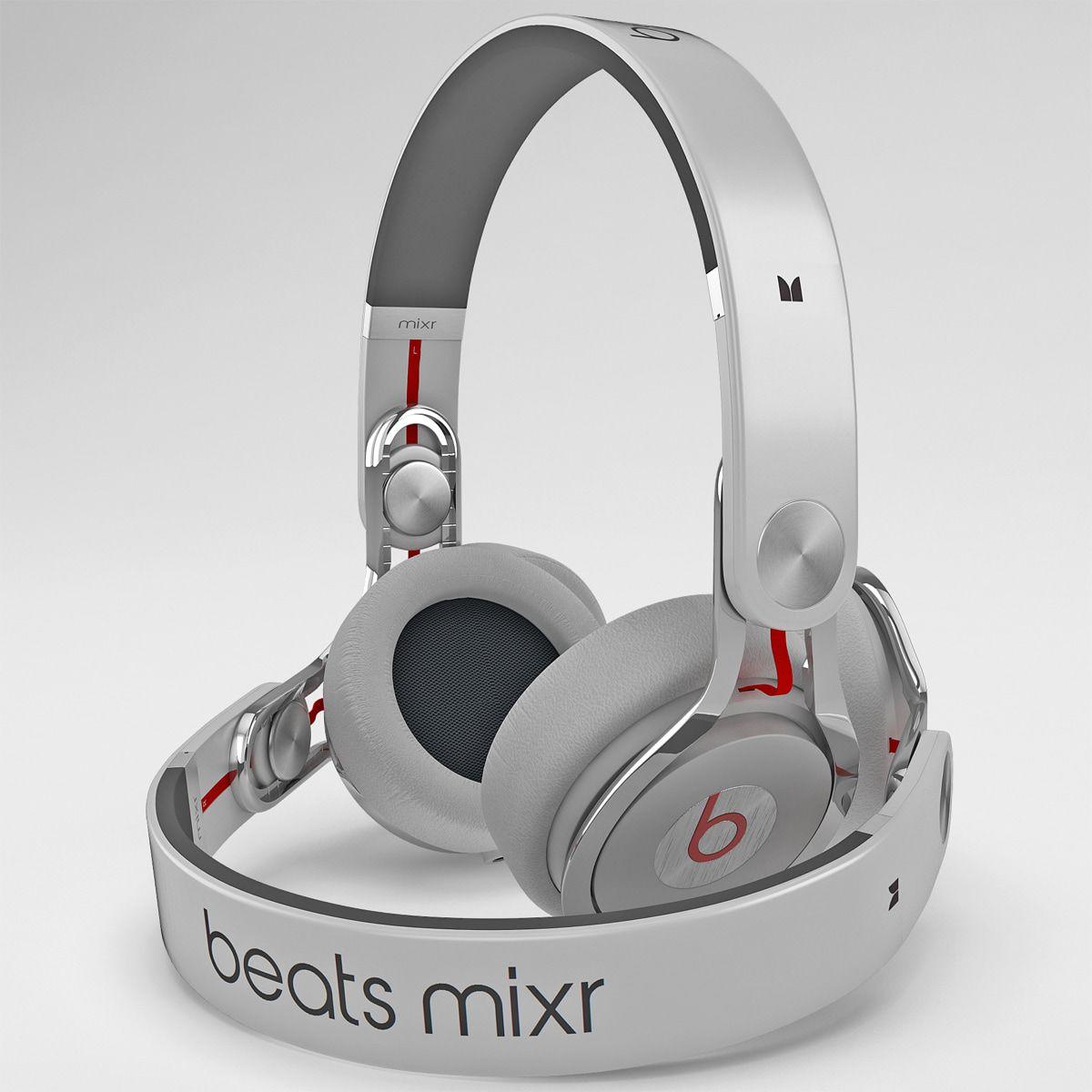 cf1d7868fbd 3D Model Headphones Monster Beats Mixr - 3D Model | Mixr ...