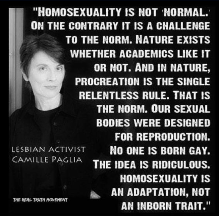 Does homosexuality go against nature