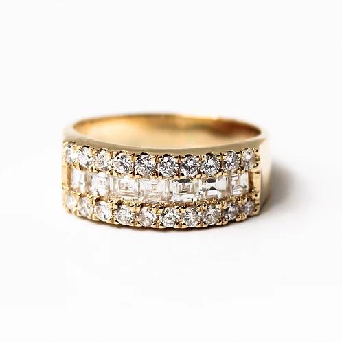 دبلة الماس ماري عيار 18 Engagement Rings Wedding Rings Rose Gold Ring